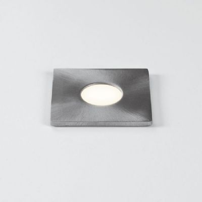 Terra 28 Square LED IP65 Ground Light in Brushed Stainless Steel - astro1201004 (7200)